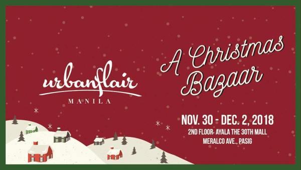 Urbanflair Manila – A Christmas Bazaar