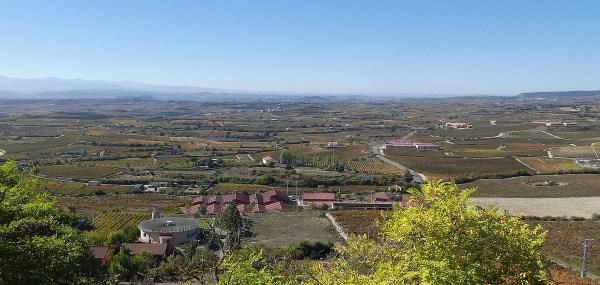 11th century walled Laguardia guarded the vast plain