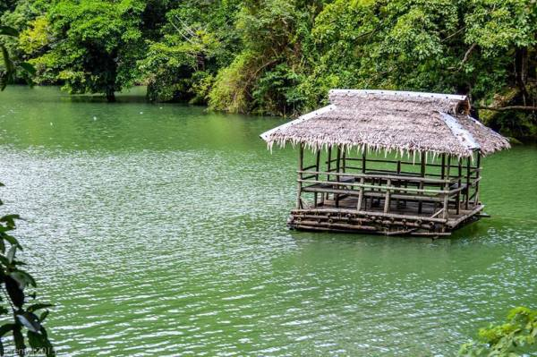 Floating Cottages in Lake Balanan photo via FB Page