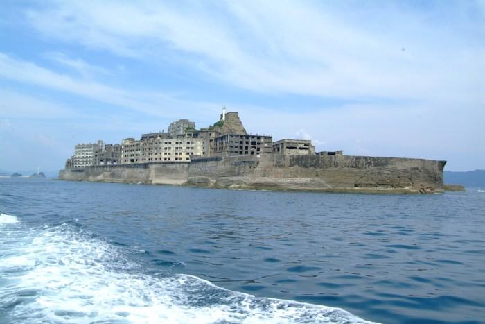 Hashima Island commonly called Gunkanjima