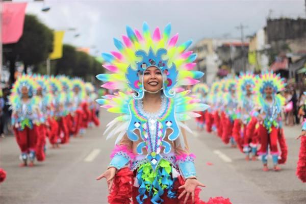 Kidapawan City Carnival Street Parade photo via Kidapawan City Tourism Office FB