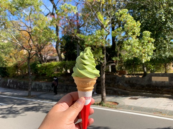 Matcha Ice Cream in Nagasaki