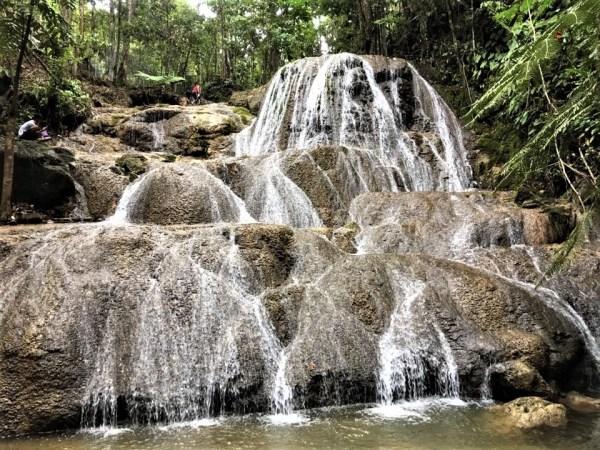 Mlangen Falls in Maitum