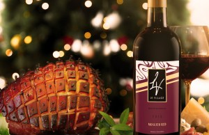 La Petite Parisienne complements the noche buena must-have treat, the Christmas ham, with Shanpelino Moscato Red wine
