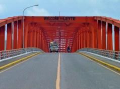 San Juanico Bridge in Leyte
