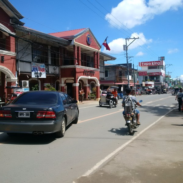 The town of Bolinao in Pangasinan