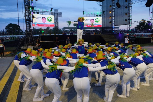 Bambanti Festival Contingets from Banga Isabela