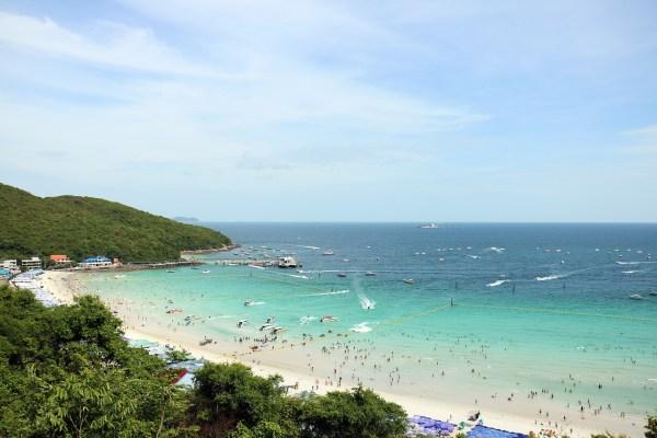 Beach near Pattaya Thailand