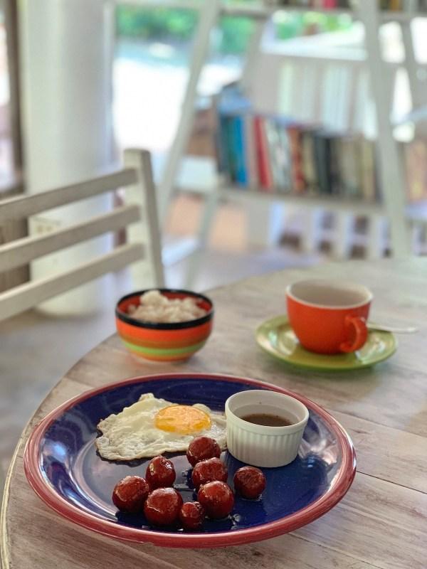 Breakfast in Panglao Island