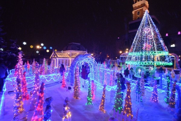 Christmas in Sapporo