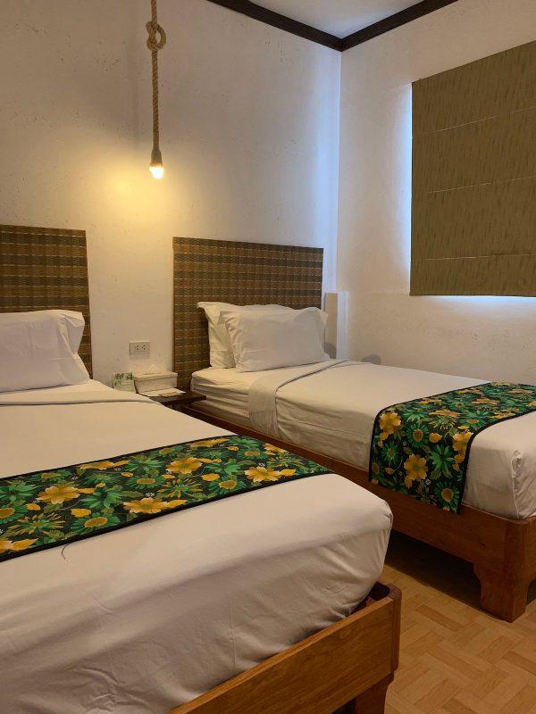 Club Agutaya Bedroom