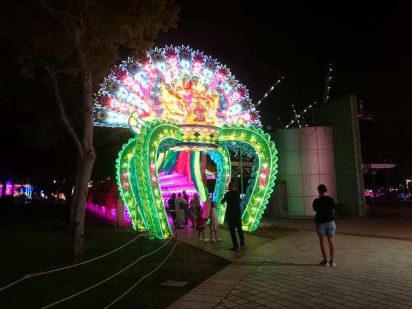 Dubai Garden Glow by Dhanasekaran Lakshmanan via FB