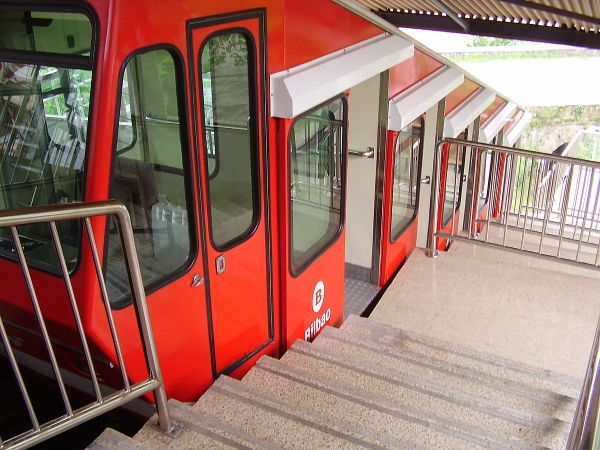 Funicular Artxanda by Cyril5555 via Wikipedia CC