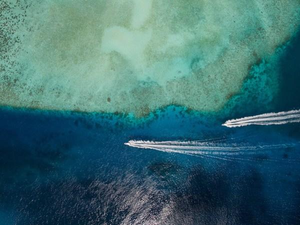 Landscape Lagoon Maldives