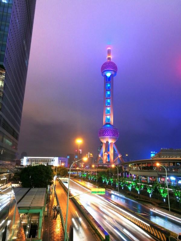 Oriental Pear TV Tower Shanghai