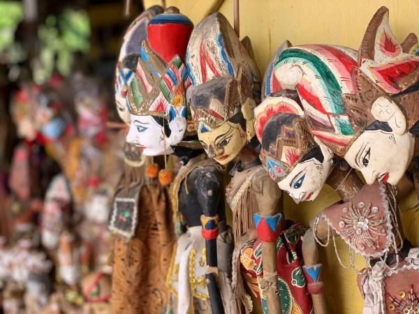 Pawon Temple Souvenir Shops