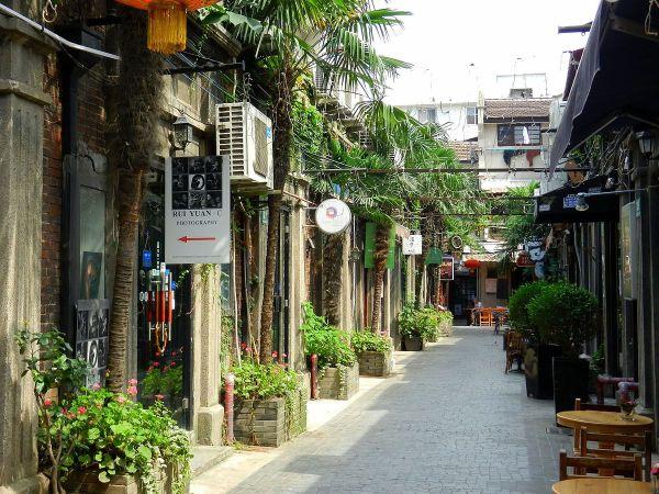 Tian Zi Fang photo via Wikipedia CC