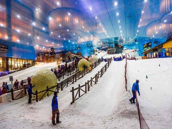 ski park dubai holiday