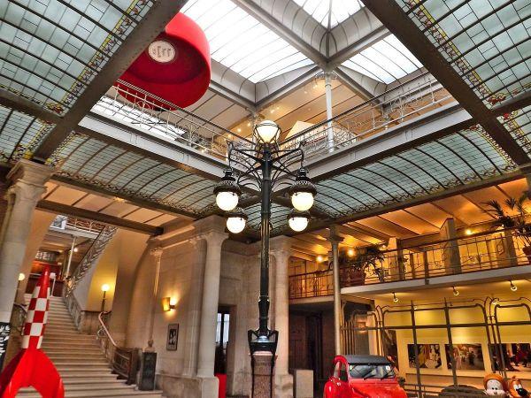 Belgium Comic Strip Centre by LCDMC via Wikipedia CC