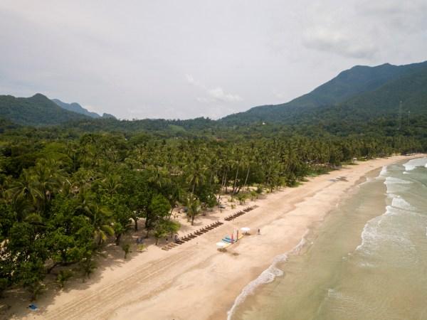 Daluyon view of Sabang Beach