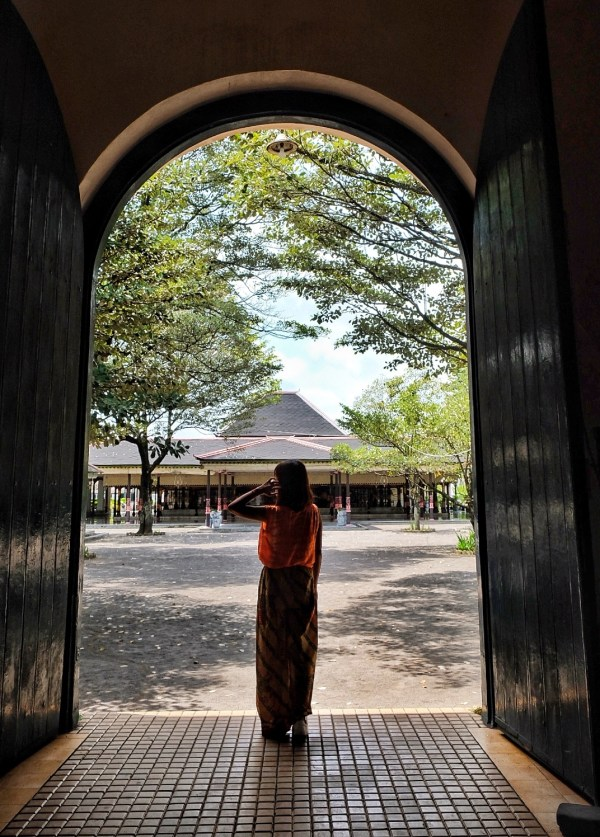 Entrance to the Kraton Palace Museum