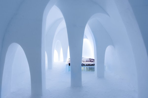 ICE Hotel in Sweden photo via FB Page