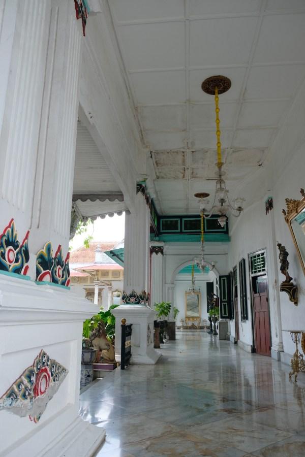 Kraton Palace Hallway