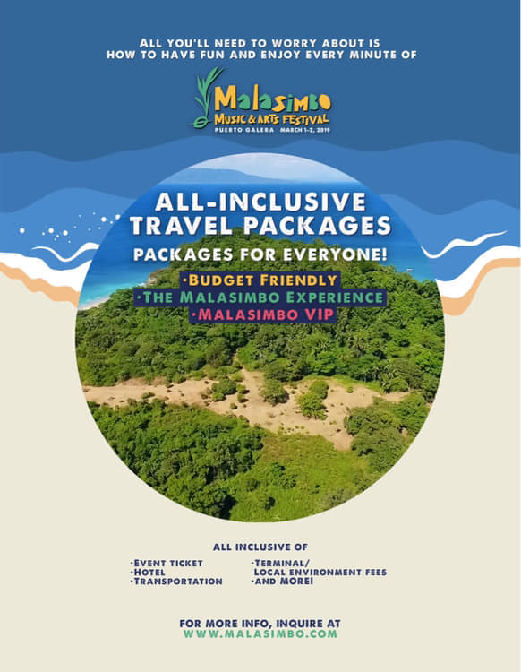 Malasimbo Music Festival 2019 Ticket Prices and Packages