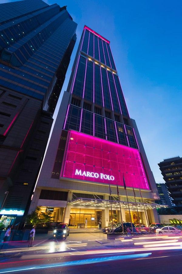 Marco Polo Ortigas Manila's Facade