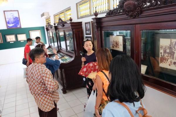 Museum inside Kraton Ngayogyakarta Hadiningrat