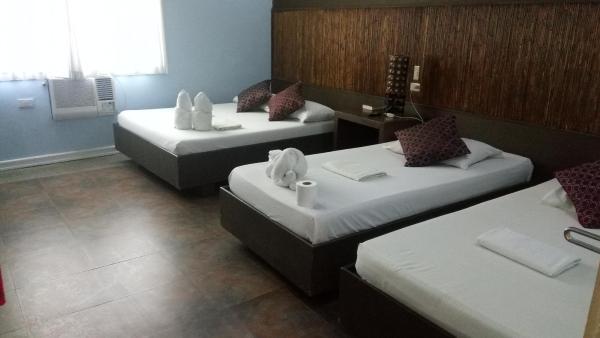 Quad Room at RB Lodge Kalibo