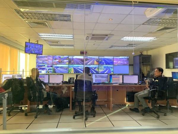 SCTEX Traffic Control Center