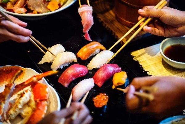 Sushi by Rawpixel via Unsplash