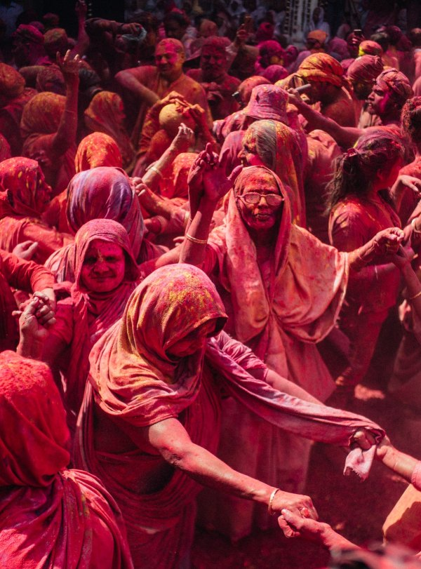 The Holi Festival Of Colors in India by Tom Watkins via unsplash