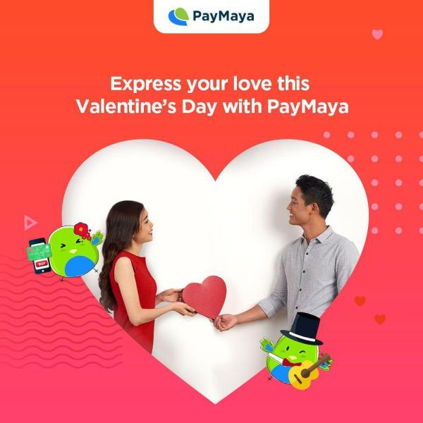 Valentine's Day deals with PayMaya
