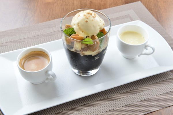 Barako Coffee Jelly with Mantecado Ice Cream