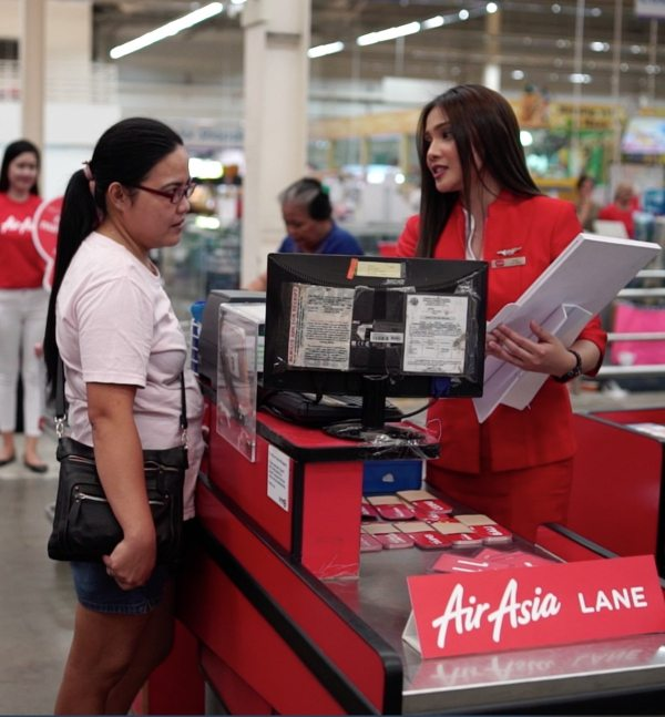 Customers had the chance to buy ticket fares as affordable as brownies, chips, and chocolate
