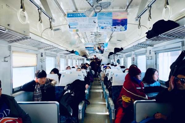 Inside Ryuhyo Monogatari Train