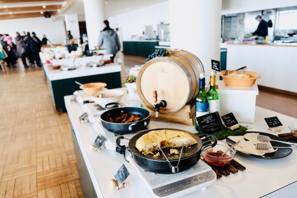 Lunch Buffet at Ikeda Wine
