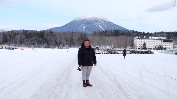 Melo in Lake Akan, Hokkaido