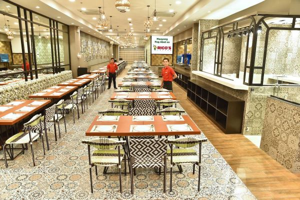 Rico's Lechon SM Mall of Asia Dining Area