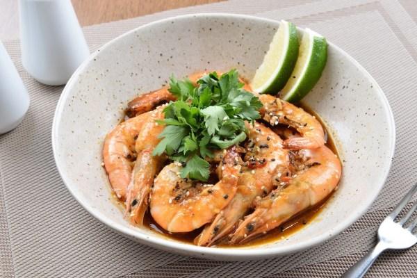 Singaporean Chili Shrimps