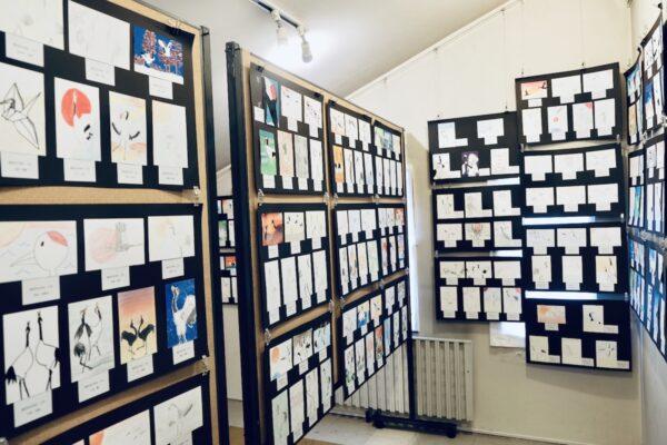 Tsurui Ito Tancho Crane Sanctuary Art Exhibit