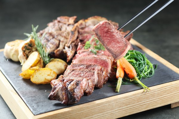 Grilled T-bone Steak in Florentine Style