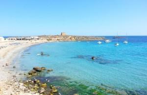Isla Tabarca in Alicante Spain