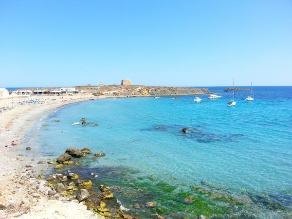 Isla Tabarca in Alicante Spain