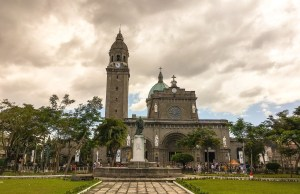Manila Cathedral in Intramuros Manila