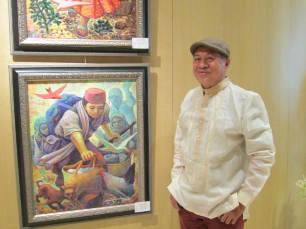 Nemi Miranda's art masterpieces at Conrad Manila
