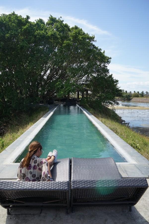 Pool at Punong Gary's Place