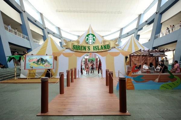 Starbucks Sirens Island